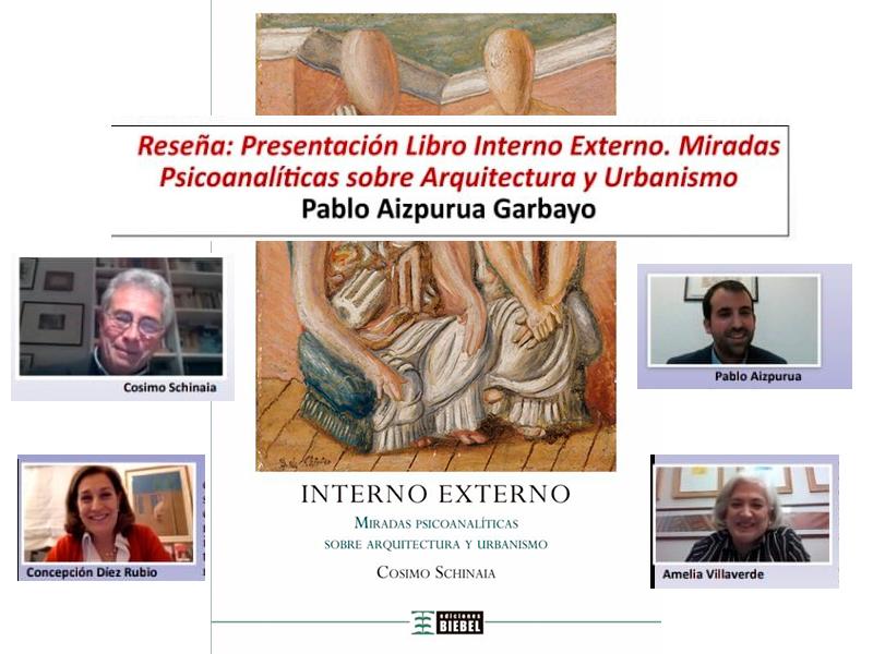 """Reseña (La Consulta de Chamberí) - Presentación libro """"Interno Externo"""""""